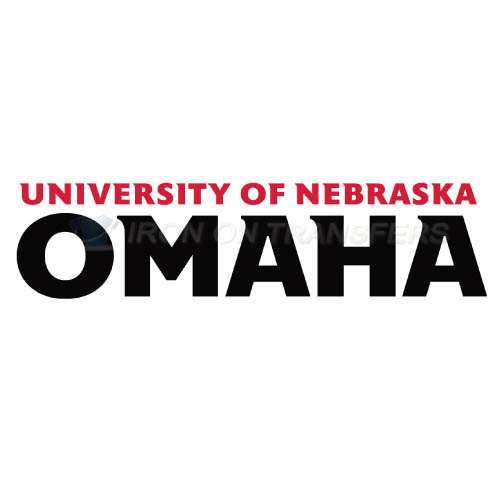 Nebraska Omaha Mavericks Logo T-shirts Iron On Transfers N5389