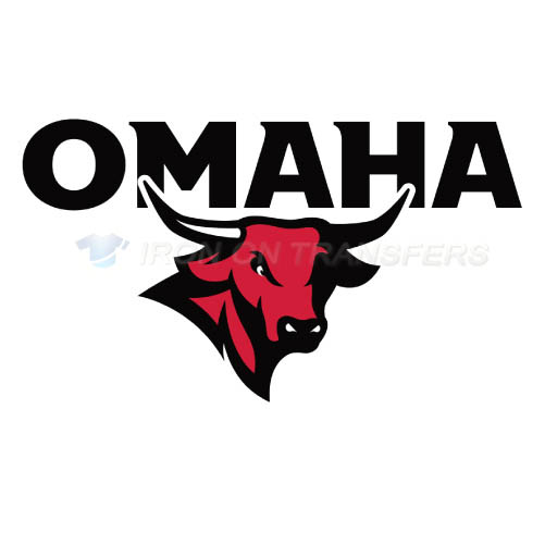 Nebraska Omaha Mavericks Logo T-shirts Iron On Transfers N5393