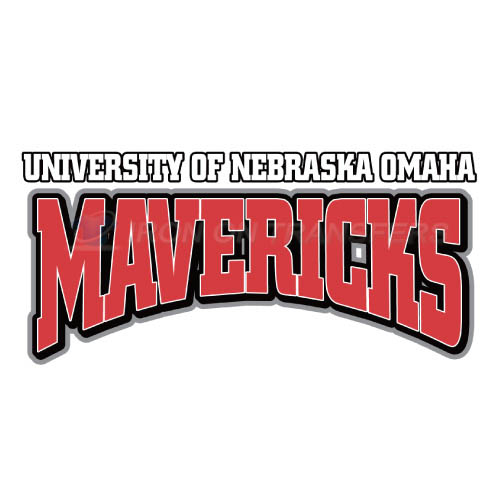 Nebraska Omaha Mavericks Logo T-shirts Iron On Transfers N5397