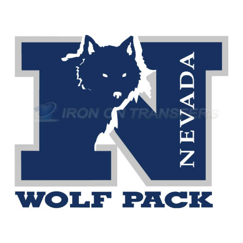Nevada Wolf Pack Logo T-shirts Iron On Transfers N5401