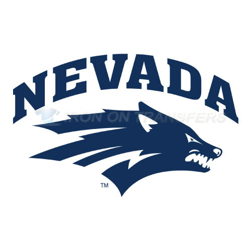 Nevada Wolf Pack Logo T-shirts Iron On Transfers N5403