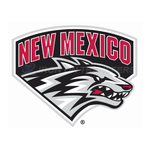 New Mexico Lobos Logo T-shirts Iron On Transfers N5419