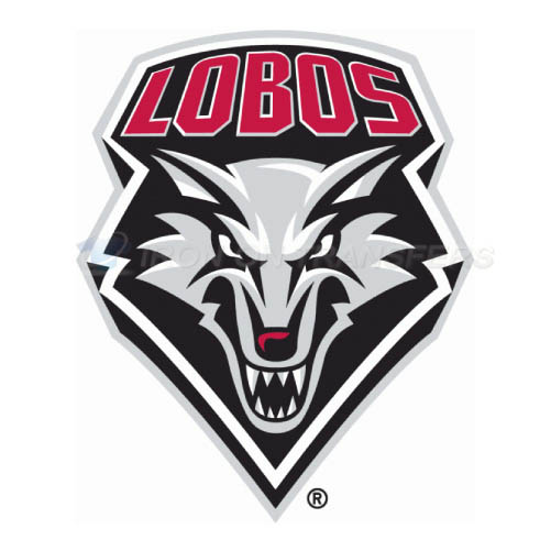 New Mexico Lobos Logo T-shirts Iron On Transfers N5425