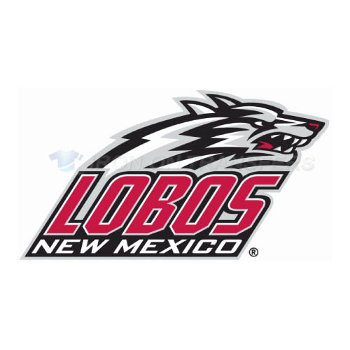 New Mexico Lobos Logo T-shirts Iron On Transfers N5427