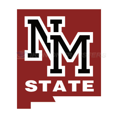 New Mexico State Aggies Logo T-shirts Iron On Transfers N5432