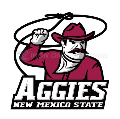 New Mexico State Aggies Logo T-shirts Iron On Transfers N5433