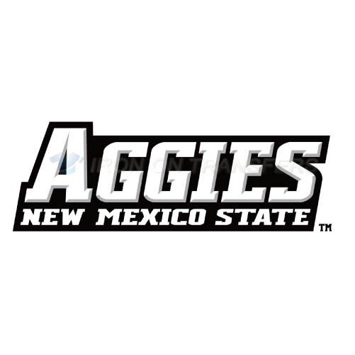 New Mexico State Aggies Logo T-shirts Iron On Transfers N5434