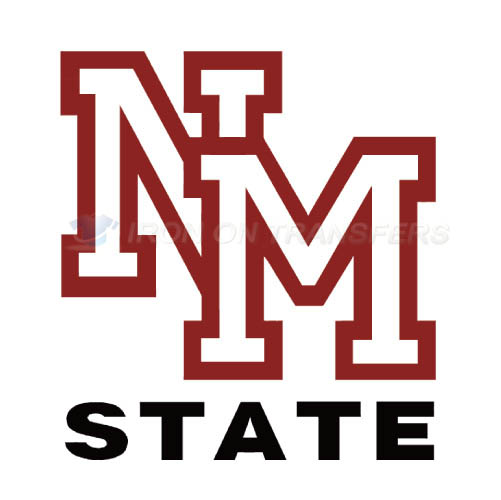 New Mexico State Aggies Logo T-shirts Iron On Transfers N5435