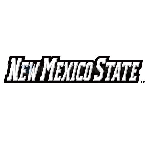 New Mexico State Aggies Logo T-shirts Iron On Transfers N5437