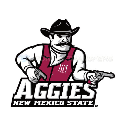 New Mexico State Aggies Logo T-shirts Iron On Transfers N5438
