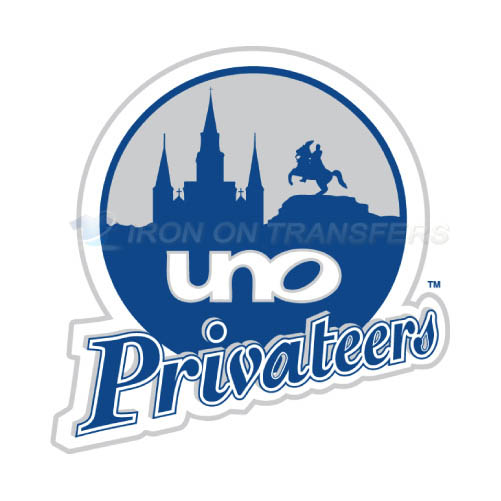 New orleans privateers logo t shirts iron on transfers n5449