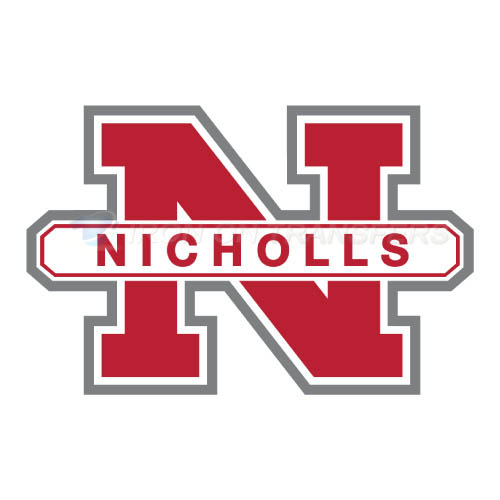 Nicholls State Colonels Logo T-shirts Iron On Transfers N5458