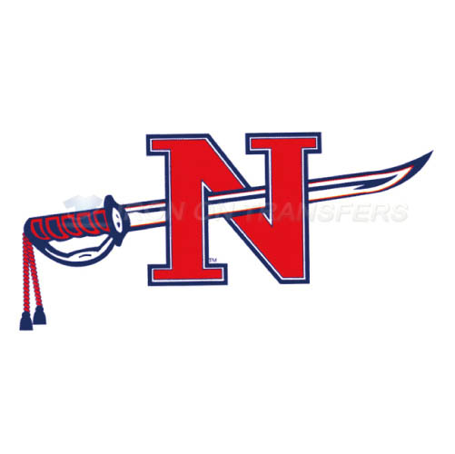 Nicholls State Colonels Logo T-shirts Iron On Transfers N5459