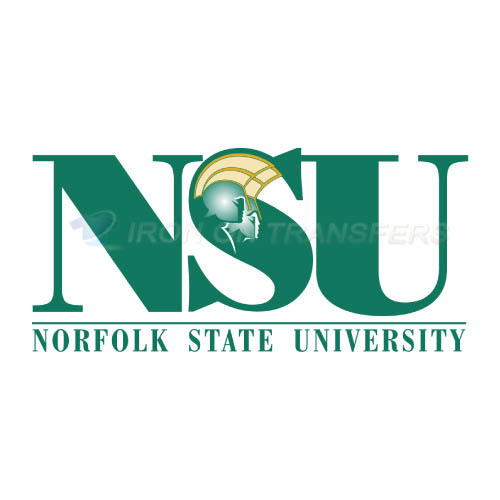 Norfolk State Spartans Logo T-shirts Iron On Transfers N5471