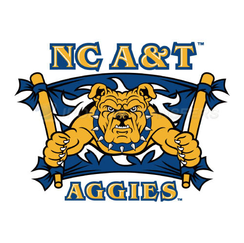 North Carolina A T Aggies Logo T-shirts Iron On Transfers N5477