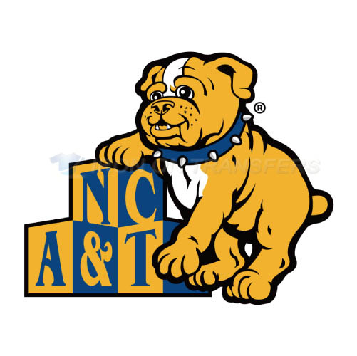 North Carolina A T Aggies Logo T-shirts Iron On Transfers N5478