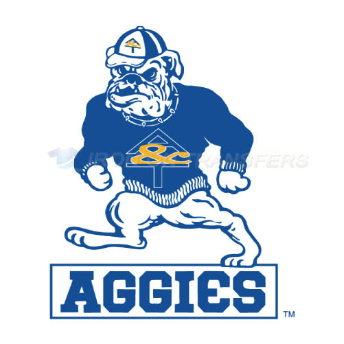 North Carolina A T Aggies Logo T-shirts Iron On Transfers N5480
