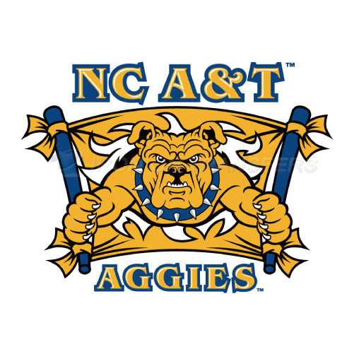 North Carolina A T Aggies Logo T-shirts Iron On Transfers N5487