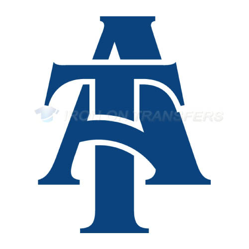North Carolina A T Aggies Logo T-shirts Iron On Transfers N5488