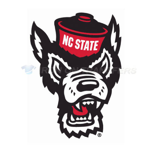 North Carolina State Wolfpack Logo T-shirts Iron On Transfers N5