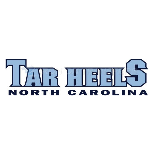 North Carolina Tar Heels Logo T-shirts Iron On Transfers N5516