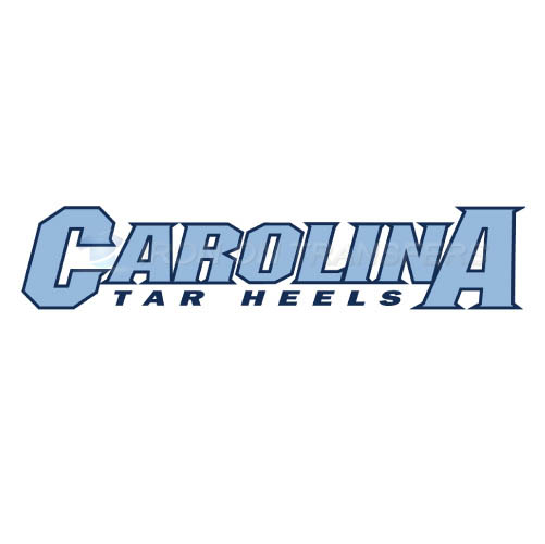 North Carolina Tar Heels Logo T-shirts Iron On Transfers N5518
