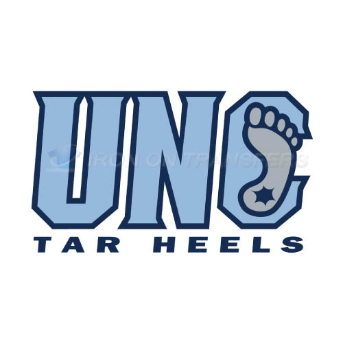 North Carolina Tar Heels Logo T-shirts Iron On Transfers N5520
