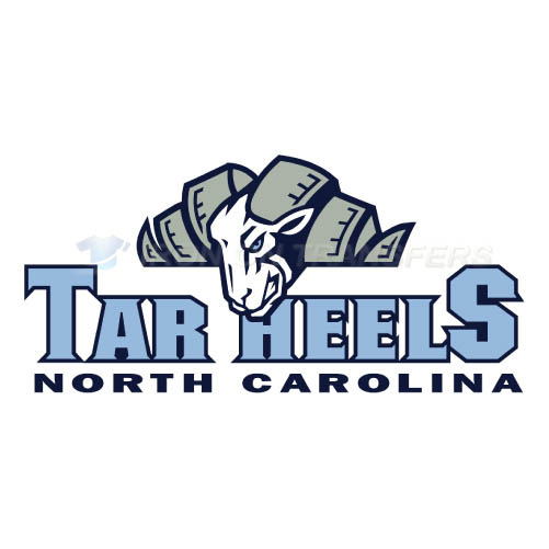 North Carolina Tar Heels Logo T-shirts Iron On Transfers N5521