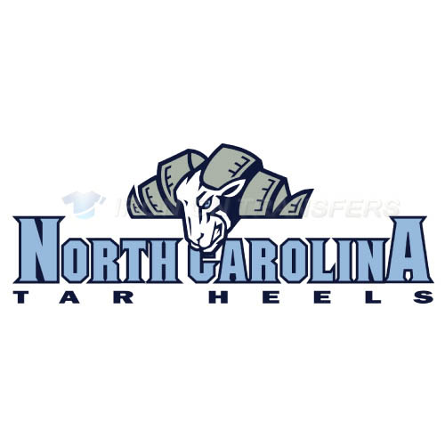 North Carolina Tar Heels Logo T-shirts Iron On Transfers N5525