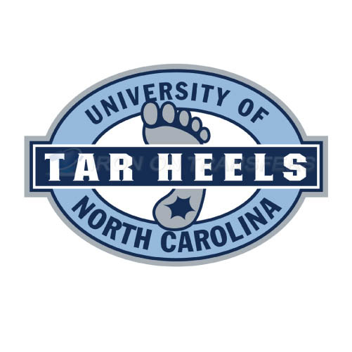 North Carolina Tar Heels Logo T-shirts Iron On Transfers N5527