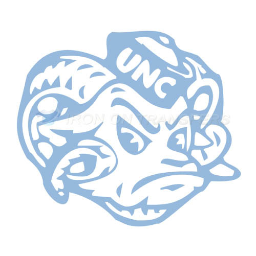 North Carolina Tar Heels Logo T-shirts Iron On Transfers N5530