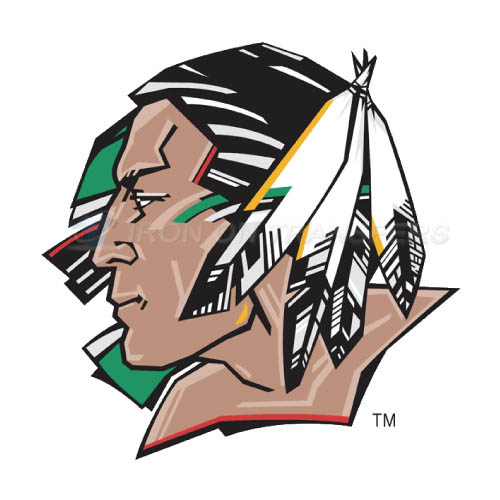 North Dakota Fighting Sioux Logo T-shirts Iron On Transfers N558