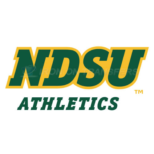 North Dakota State Bison Logo T-shirts Iron On Transfers N5592