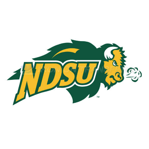 North Dakota State Bison Logo T-shirts Iron On Transfers N5593