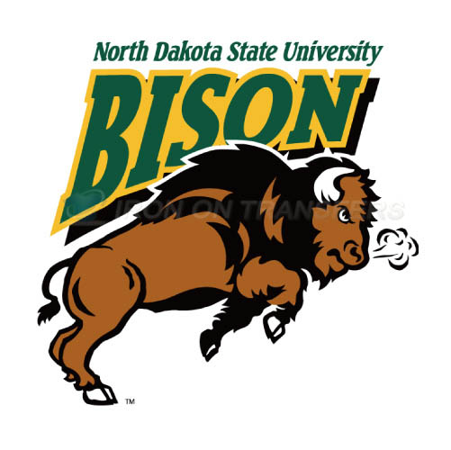 North Dakota State Bison Logo T-shirts Iron On Transfers N5595