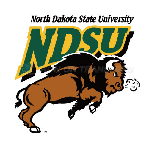 North Dakota State Bison Logo T-shirts Iron On Transfers N5605 - Click Image to Close