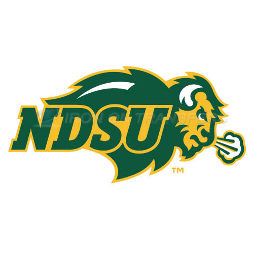 North Dakota State Bison Logo T-shirts Iron On Transfers N5611