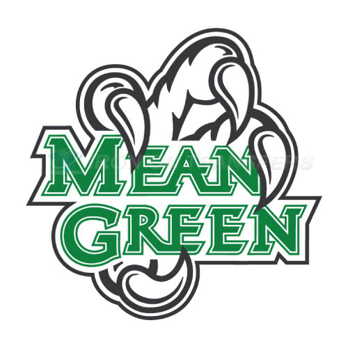 American Logo Products North Texas Mean Green Logo Magnet