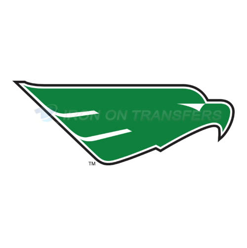 North Texas Mean Green Logo T-shirts Iron On Transfers N5617