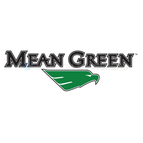 North Texas Mean Green Logo T-shirts Iron On Transfers N5618