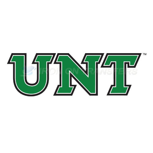 North Texas Mean Green Logo T-shirts Iron On Transfers N5619