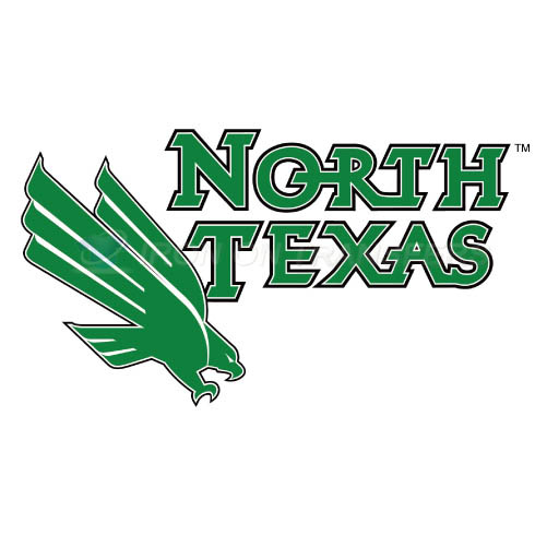 North Texas Mean Green Logo T-shirts Iron On Transfers N5620