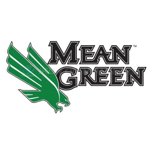 North Texas Mean Green Logo T-shirts Iron On Transfers N5626