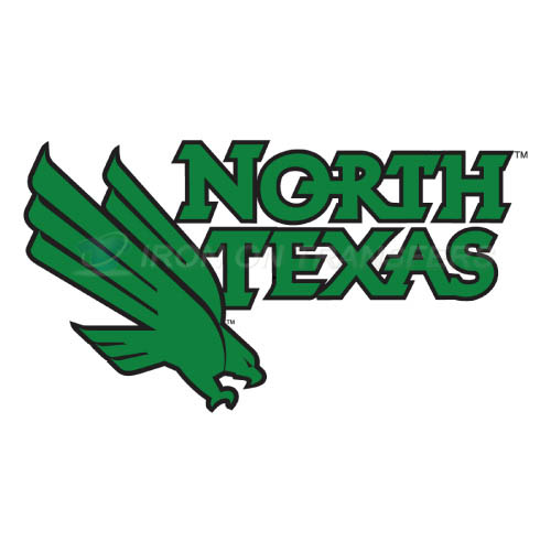 North Texas Mean Green Logo T-shirts Iron On Transfers N5627