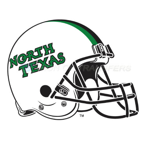 North Texas Mean Green Logo T-shirts Iron On Transfers N5628