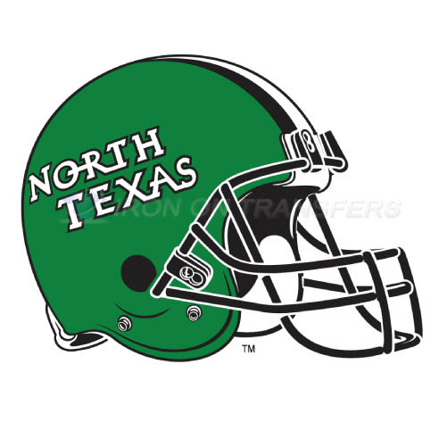 North Texas Mean Green Logo T-shirts Iron On Transfers N5629