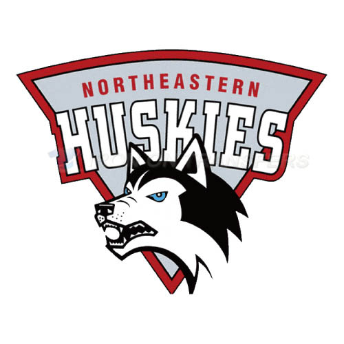 Northeastern Huskies Logo T-shirts Iron On Transfers N5630