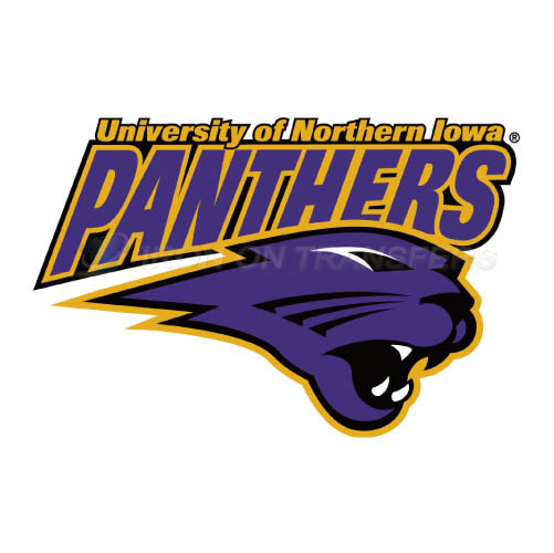 Northern Iowa Panthers Logo T-shirts Iron On Transfers N5669