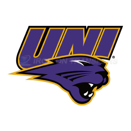 Northern Iowa Panthers Logo T-shirts Iron On Transfers N5671