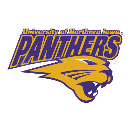 Northern Iowa Panthers Logo T-shirts Iron On Transfers N5672